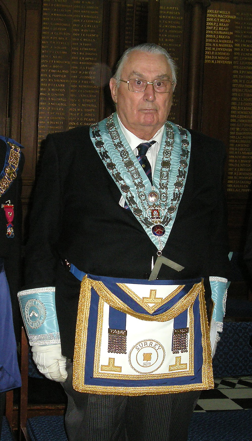 W.Bro. David Owen PPAGReg