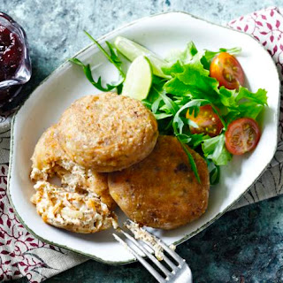 Tofu Croquettes with Cranberry Sauce Recipe