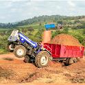 Cargo Tractor Trolley Simulator Farming Game 2021 icon