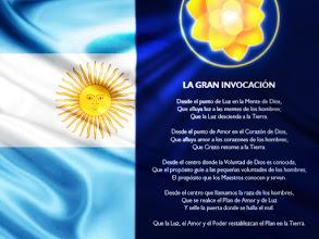 Photo: la gran invocación en argentina