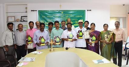 Photo: Polima Karshaka Puraskaram Winners (Best Farmer Award) 2013