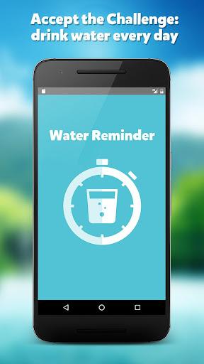 WATER REMINDER CHALLENGE