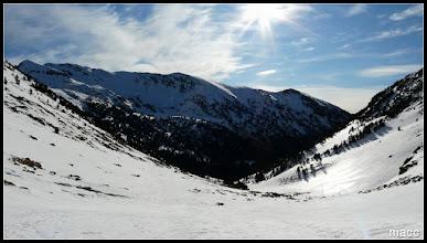 Photo: Clot Sord, Tossa de Caraup y toda la cresta que lo une al Pic de la Coma de Varilles.