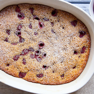 Cornmeal Raspberry Buckle