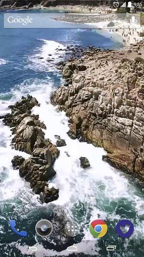Ariel Coast and Sea Live