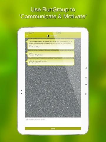 android RunGroup Screenshot 9
