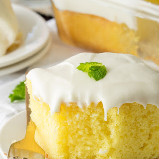 Super Easy Lemonade Cake.