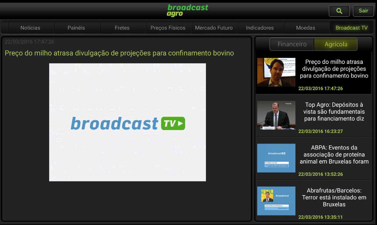 Broadcast Agro- screenshot