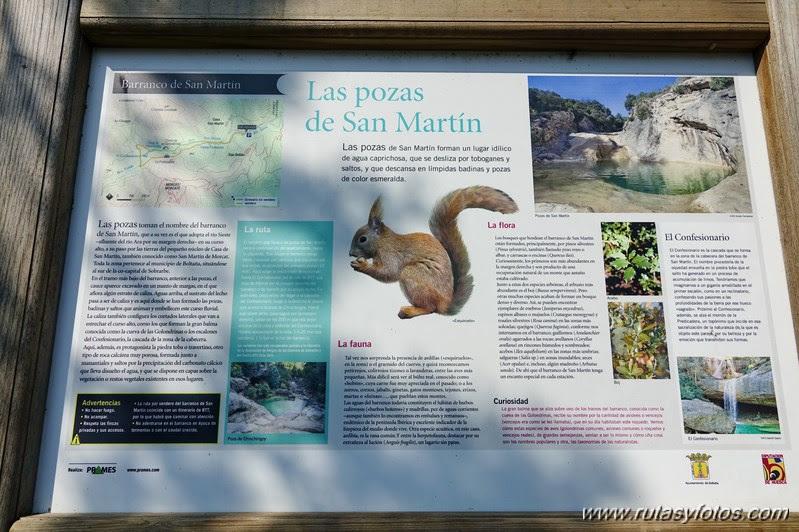 Pozas de San Martin - El Confesionario