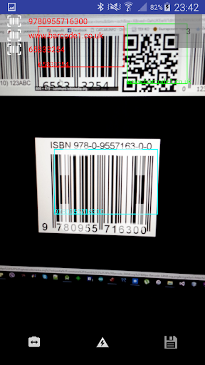 Barcode & QR code Keyboard 7.2.7 screenshots 4