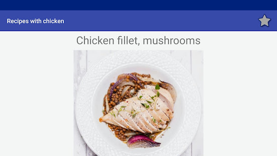 Download Recipes with chicken! Free! For PC Windows and Mac apk screenshot 14