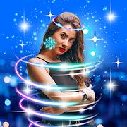 Light Crown Editor Neon Glitter Photo Effects App Report on