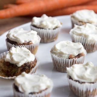Gluten Free Carrot Zucchini Mini Muffins.