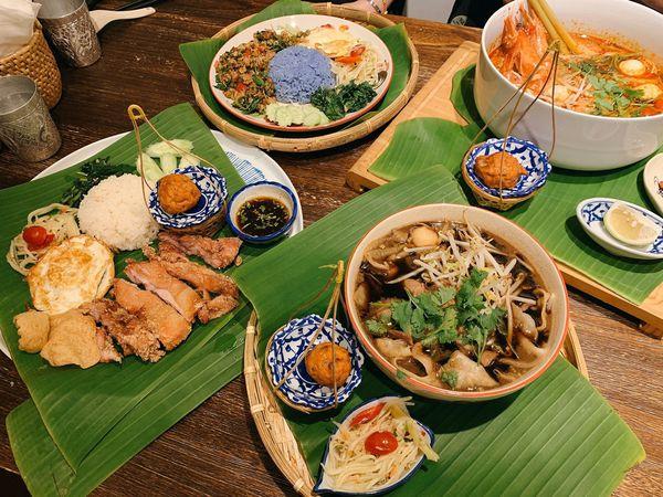 #泰式#河堤食圈#泰泰餐桌-泰香茅了