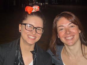 Photo: Zuzanna (Eslovàquia) i Angelina.