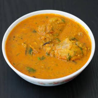 Madras Chicken Curry - Kari Kuzhambu.