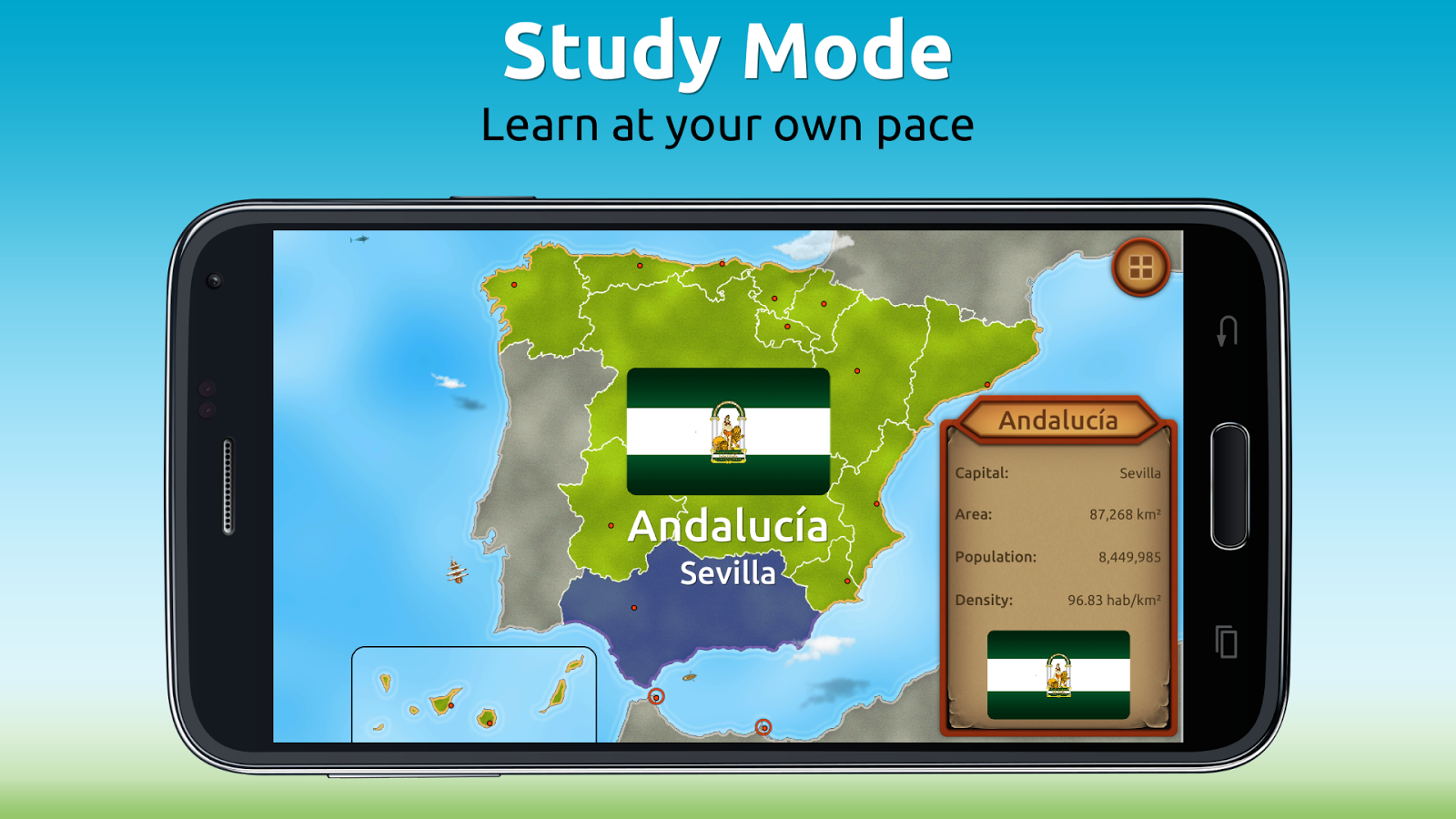 GeoExpert - Spain Geography- screenshot