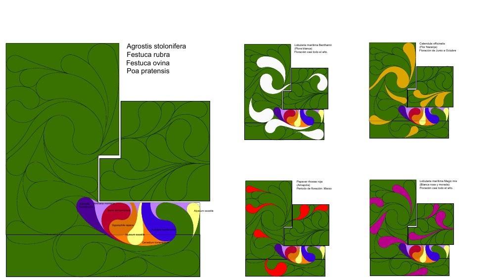 Diseño de la cubierta vegetal