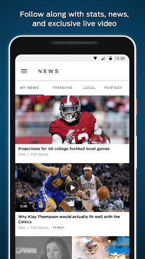 FOX Sports: Live Streaming, Scores & News  screenshots 4
