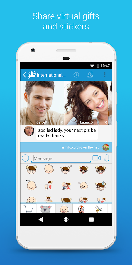 Paltalk - Free group video calls & chat rooms- screenshot
