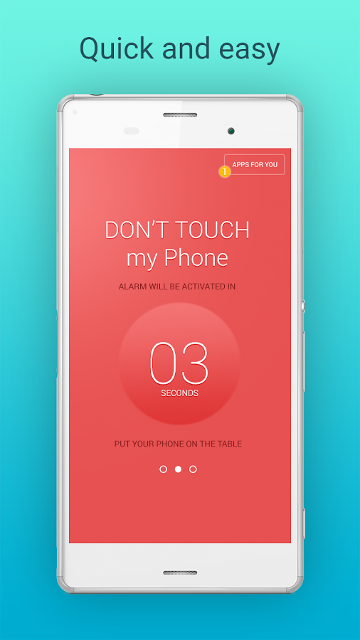 Don T Touch My Phone Security Android Apps On Google Play