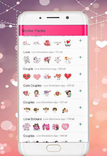 Love WAStickers 2019: Love Couples Stickers ss1