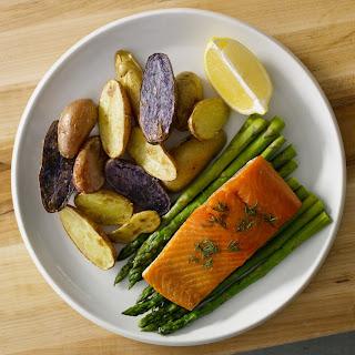 Sheet Pan Salmon & Veggies.