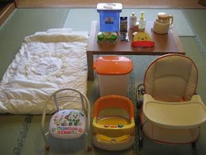 Photo: 赤ちゃんプラン備品