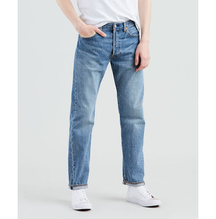 Levi's 501 Original fit baywater jeans