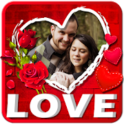 Love Photo Frames Editor