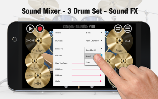 Simple Drums Pro - The Complete Drum App 1.1.7 screenshots 3
