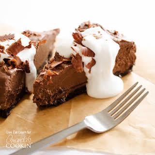 Avocado Chocolate Mousse Cake.