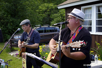 Photo: Performers at Grand Isle State Park by Justin Lajoie
