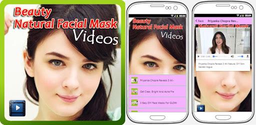 Приложения в Google Play – Beauty Natural <b>Facial Mask</b> Videos
