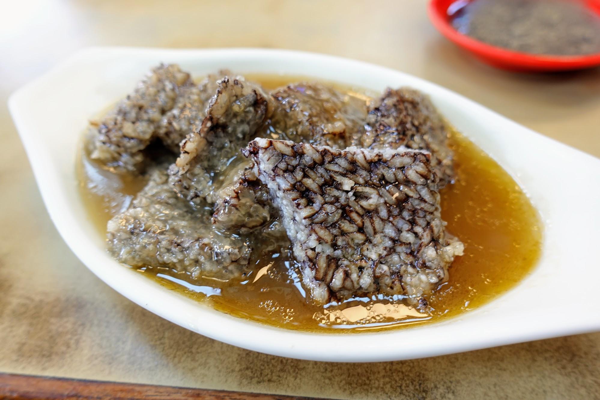 麻油米血,這次來吃味道有點怪?