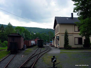Photo: Rittersgrun. Smalspoor museum