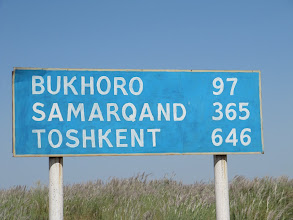 Photo: Day 161 - Distance to Bukhara