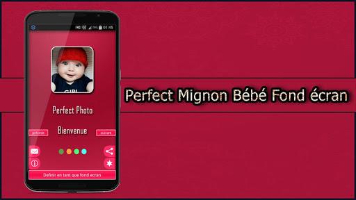 Perfect Mignon Bébé Fond écran