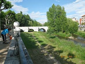 Photo: Promenade au bord du rio Arlanzon