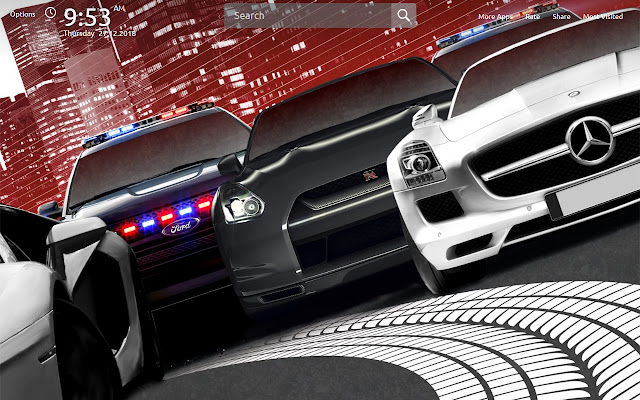 Nfs Most Wanted Wallpapers Theme New Tab