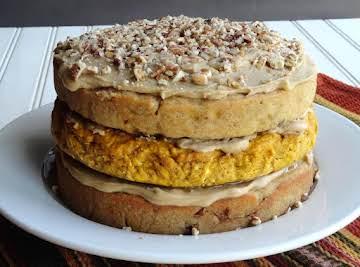 GRANNY'S GRAND CAKE & PUMPKIN CHEESECAKE FILLING
