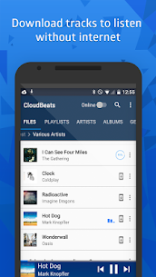 CloudBeats – offline & cloud music player 4