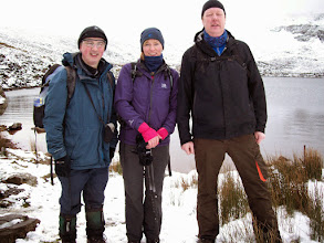 Photo: Brendan Sheils' B Walk at Lake Muskry on 18th January, 2015.  1 of 2