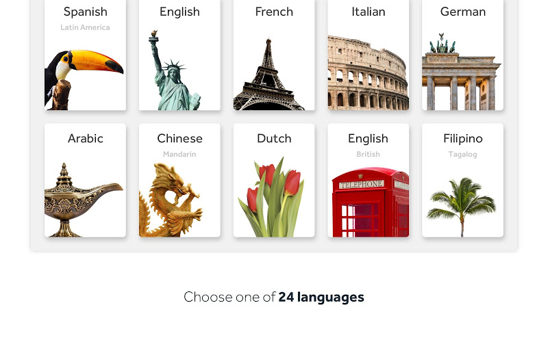 Rosetta Stone: Learn to Speak & Read New Languages Screenshot 13