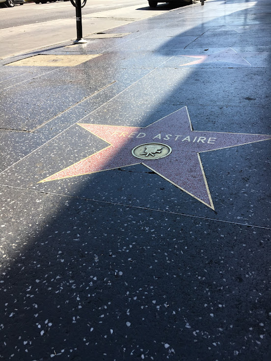 Fred Astaire's star in front of Donner King.