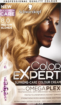 Schwarzkopf Color Expert Suprême-Care Hair Colour Cream - 8.0 Medium Blonde