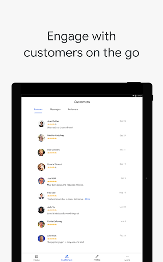 Google My Business - Connect with your Customers screenshot 13