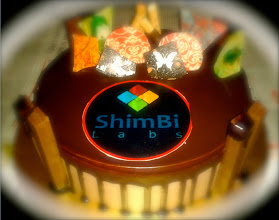 Photo: Special cake for the 9th anniversary of my husband's company ShimBi Labs (http://shimbi.in), which has built and been maintaining ASKSiddhi website for the past few years. I must ask them from which cake shop in and around Viman Nagar they ordered this sophisticated piece! 14th June updated (日本語はこちら) -http://jp.asksiddhi.in/daily_detail.php?id=573