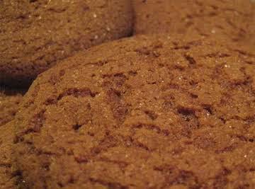 Ginger-Cinnamon Cookies (Vegan)