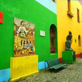 La Boca by Zdenka Rosecka - Buildings & Architecture Public & Historical